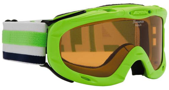 Alpina Ruby S Singleflex Hicon S1 goggles groen/wit